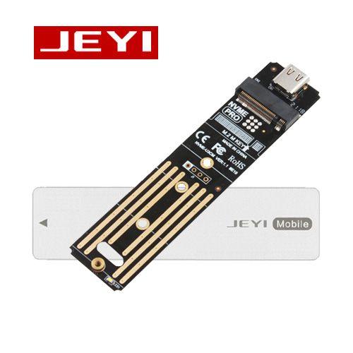 Box di động JEYI I9 Mobile chuyển đổi SSD M.2 PCIe NVMe Gen 3 x4 sang USB 3.1 Gen 2