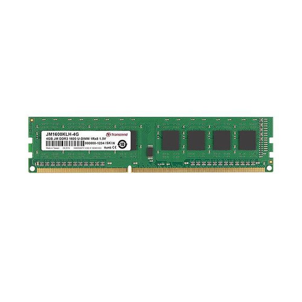 Ram PC Transcend 4GB JetRam JM DDR3 1600MHz JM1600KLH-4G