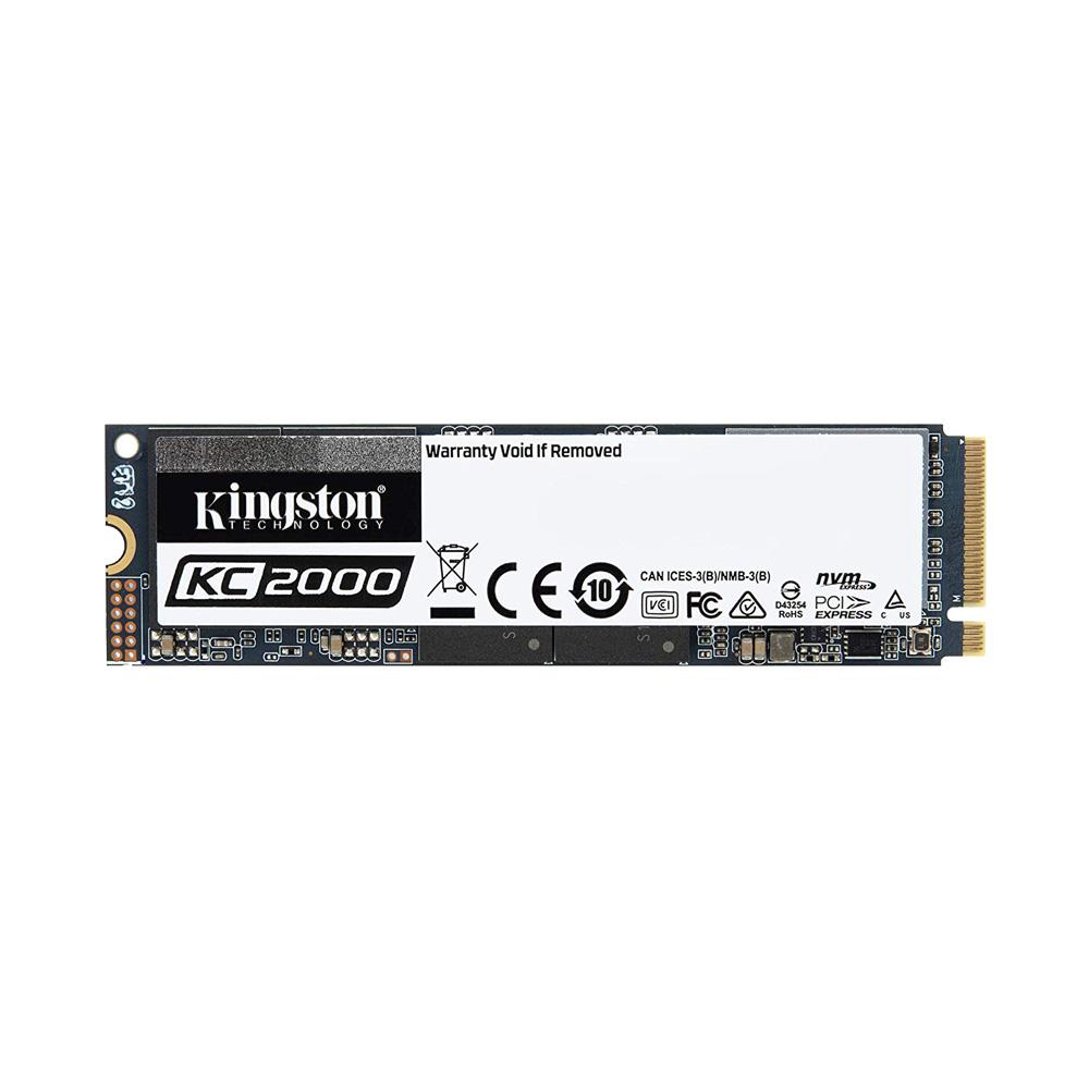 SSD Kingston KC2000 M.2 PCIe Gen3 x4 NVMe 2TB SKC2000M8/2000G