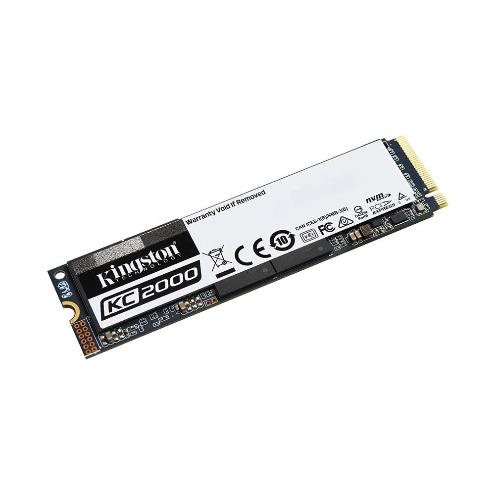 SSD Kingston KC2000 M.2 PCIe Gen3 x4 NVMe 250GB SKC2000M8/250G
