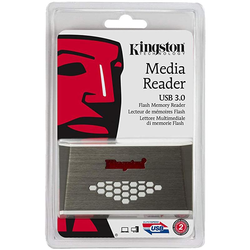 Đầu đọc thẻ KINGSTON 3.0 Media (FCR-HS4)