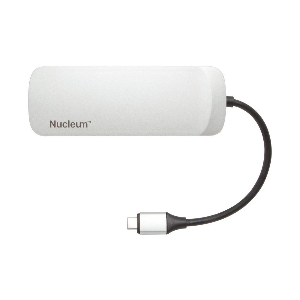 Bộ chia USB Type-C Kingston Nucleum 7-in-1 ra HDMI - USB 3.0 - USB Type-C - CardReader C-HUBC1-SR-EN