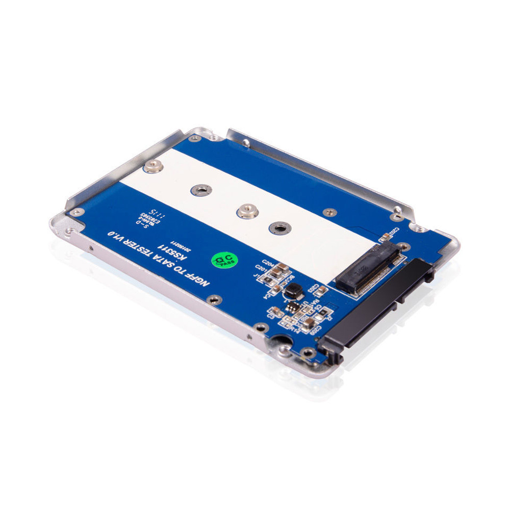 Box SSD M.2 SATA NGFF 2242 2260 2280 to 2.5inch KingShare KS-ANSTS25 Aluminum
