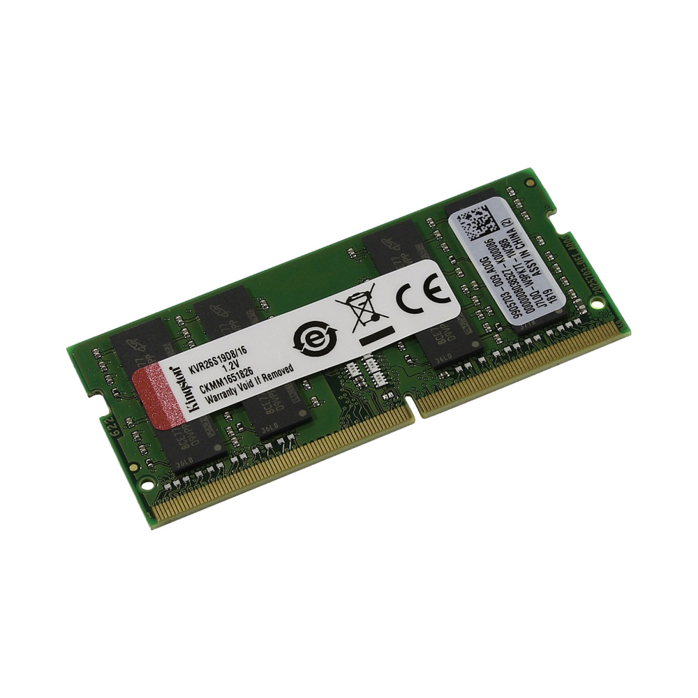 Ram Laptop Kingston DDR4 16GB Bus 2666 KVR26S19D8/16