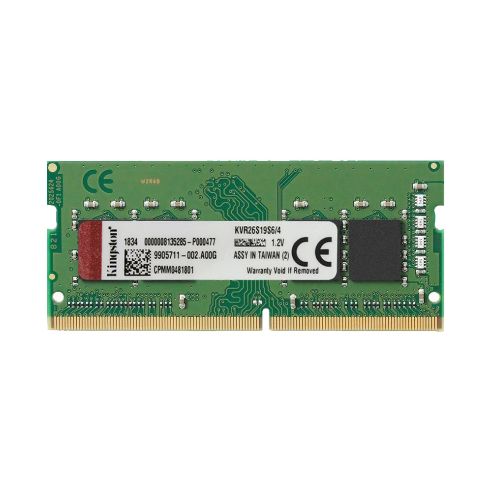 Ram Laptop Kingston DDR4 4GB Bus 2666 KVR26S19S6/4