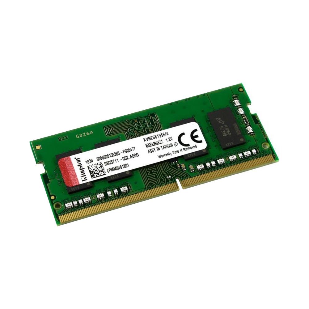 Ram Laptop Kingston DDR4 4GB Bus 2666 KVR26S19S6/4
