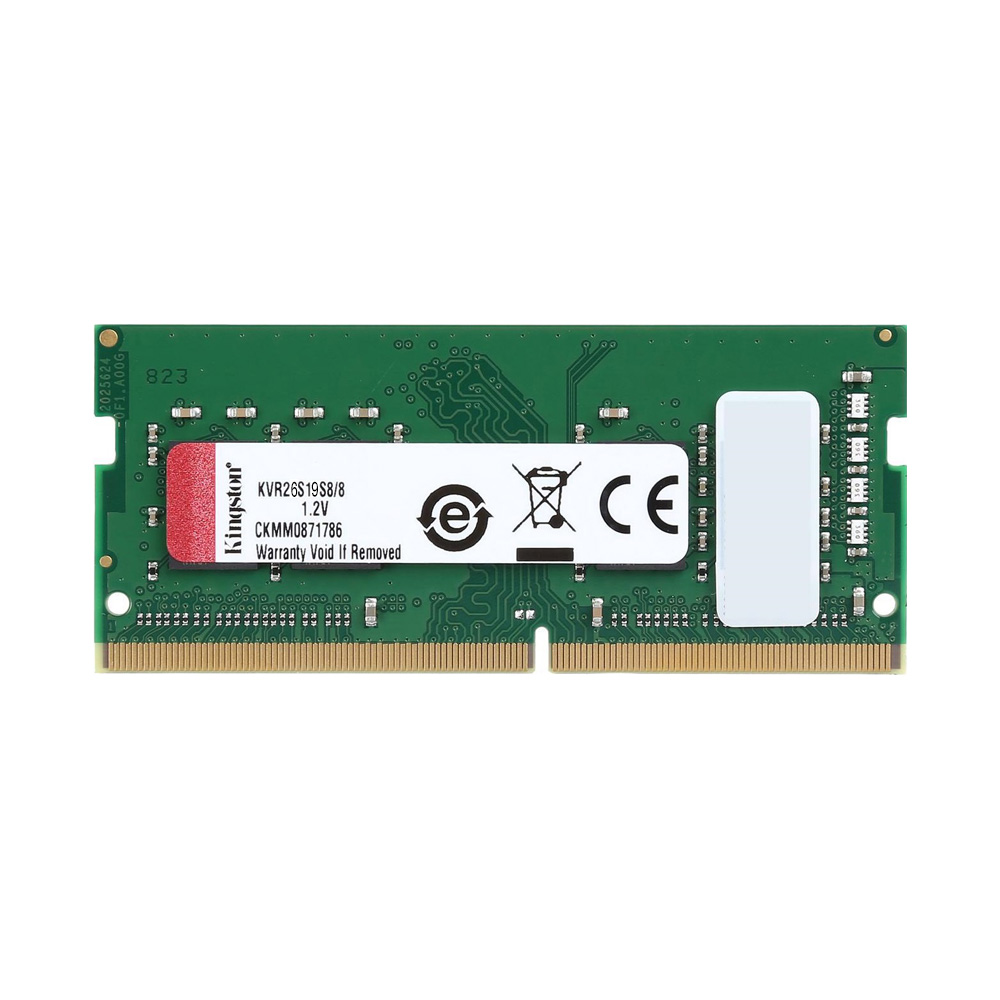 Ram Laptop Kingston DDR4 8GB Bus 3200MHz KVR32S22S6/8
