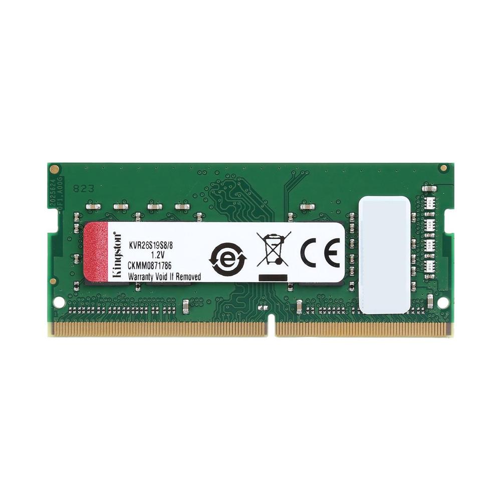 Ram Laptop Kingston DDR4 8GB Bus 2666 KVR26S19S6/8