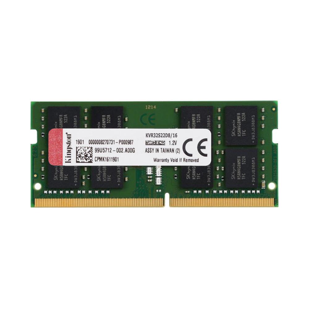 Ram Laptop Kingston DDR4 16GB Bus 3200 KVR32S22D8/16