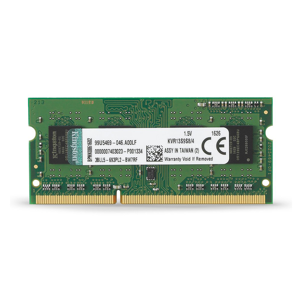 Ram Kingston DDR3 4GB Bus 1333 SODIMM 1.5v ( KVR13S9S8/4 )