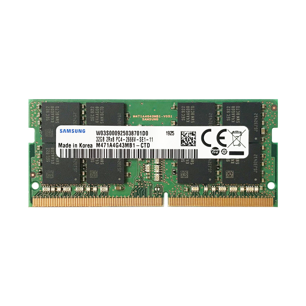 Ram Laptop Samsung DDR4 32GB Bus 2666MHz CL19 M471A4G43MB1-CTD
