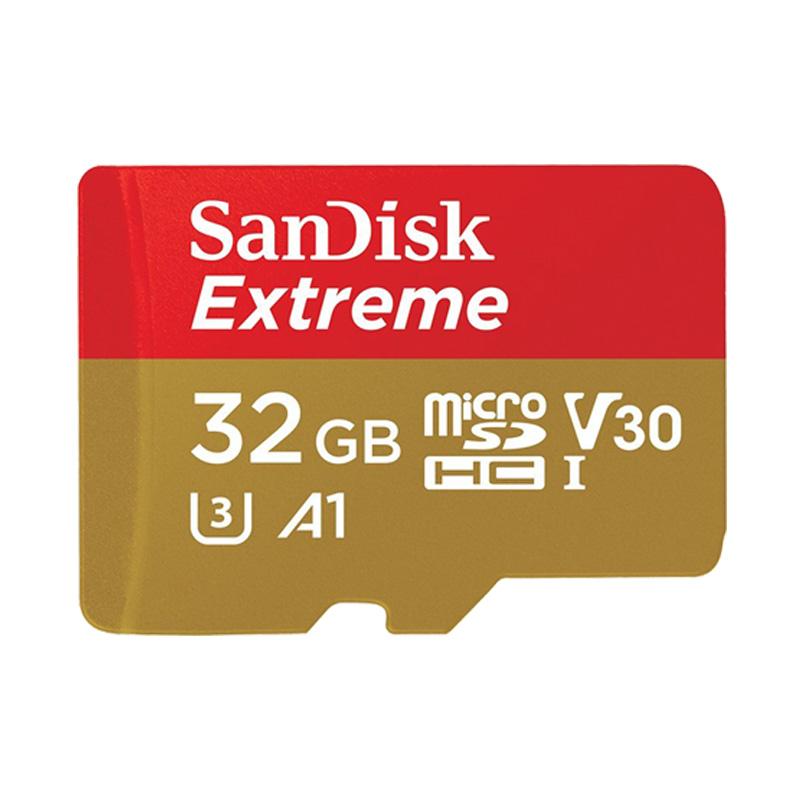 Thẻ Nhớ MicroSDHC SanDisk Extreme V30 A1 667x 32GB 100MB/s SDSQXAF-032G-GN6MA
