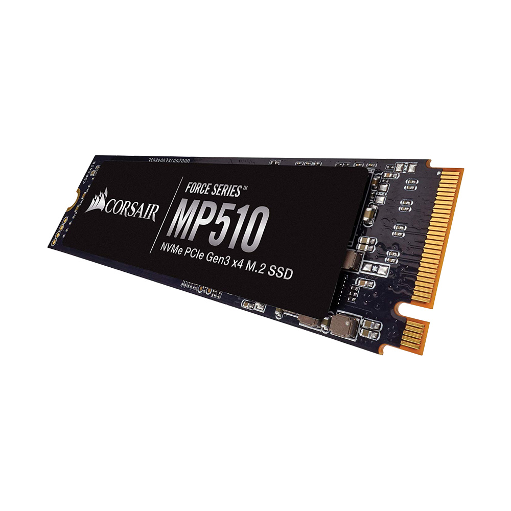 SSD Corsair Force Series™ MP510 480GB NVMe PCIe M.2 Gen3 x4 3D-NAND CSSD-F480GBMP510