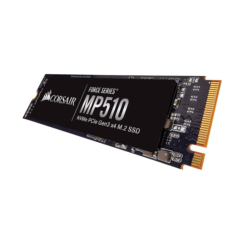 SSD Corsair Force Series MP510 480GB NVMe PCIe M.2 Gen3 x4 3D-NAND CSSD-F480GBMP510