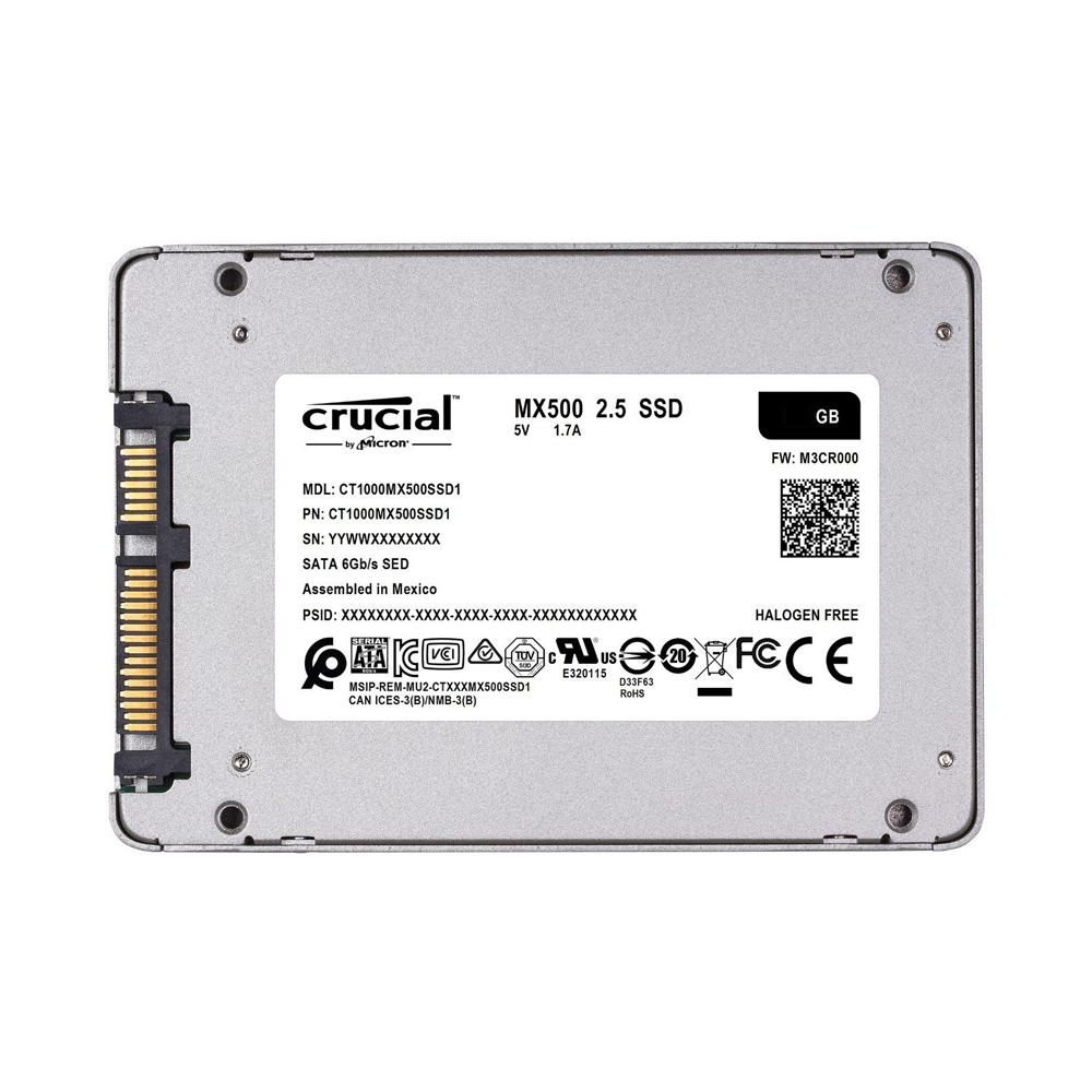 SSD Crucial MX500 3D NAND 2.5-Inch SATA III 250GB CT250MX500SSD1