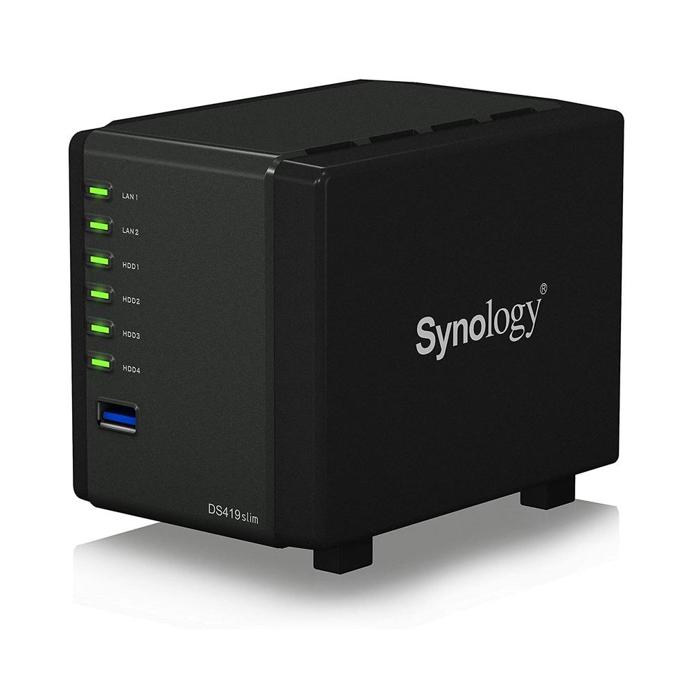 Thiết bị lưu trữ mạng NAS Synology DS419slim