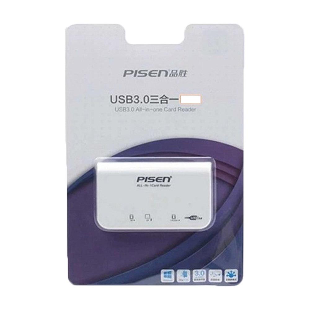 Đầu đọc 3.0 Pisen All-In-One TS-E081 USB 3.0