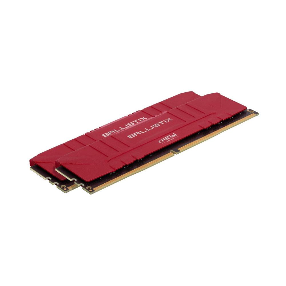 Ram PC Crucial Ballistix Gaming 16GB 2666MHz DDR4 (8GBx2) BL2K8G26C16U4