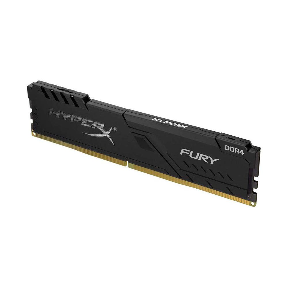 Ram PC Kingston HyperX Fury Black 8GB 2666MHz DDR4 HX426C16FB3/8