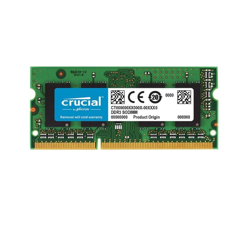 Ram Crucial DDR3L 8GB Bus 1600 SODIMM 1.35v ( CT102464BF160B )
