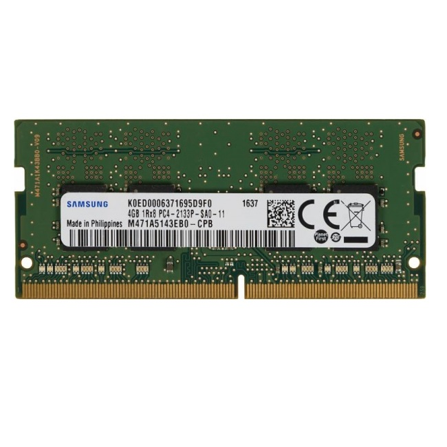 Ram Laptop Samsung DDR4 8GB Bus 2133MHz CL15 M471A1K43BB0-CPBD0