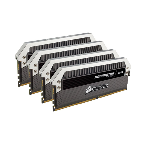Ram PC Corsair Dominator Platinum Series 32GB (4 x 8GB) Bus 3200 DDR4 CL16 (CMD32GX4M4B3200C16)