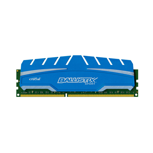Ram PC Crucial Ballistix Sport DDR3 4GB Bus 1866 ( support 1600 - 1333 , Main G41 )