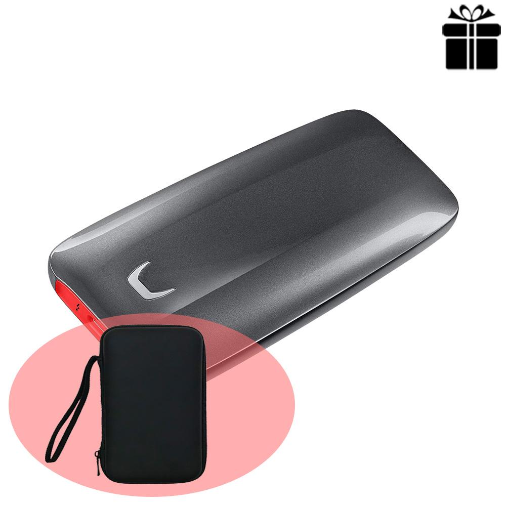 Ổ cứng di động 1TB External SSD Samsung X5 Thunderbolt 3 MU-PB1T0B