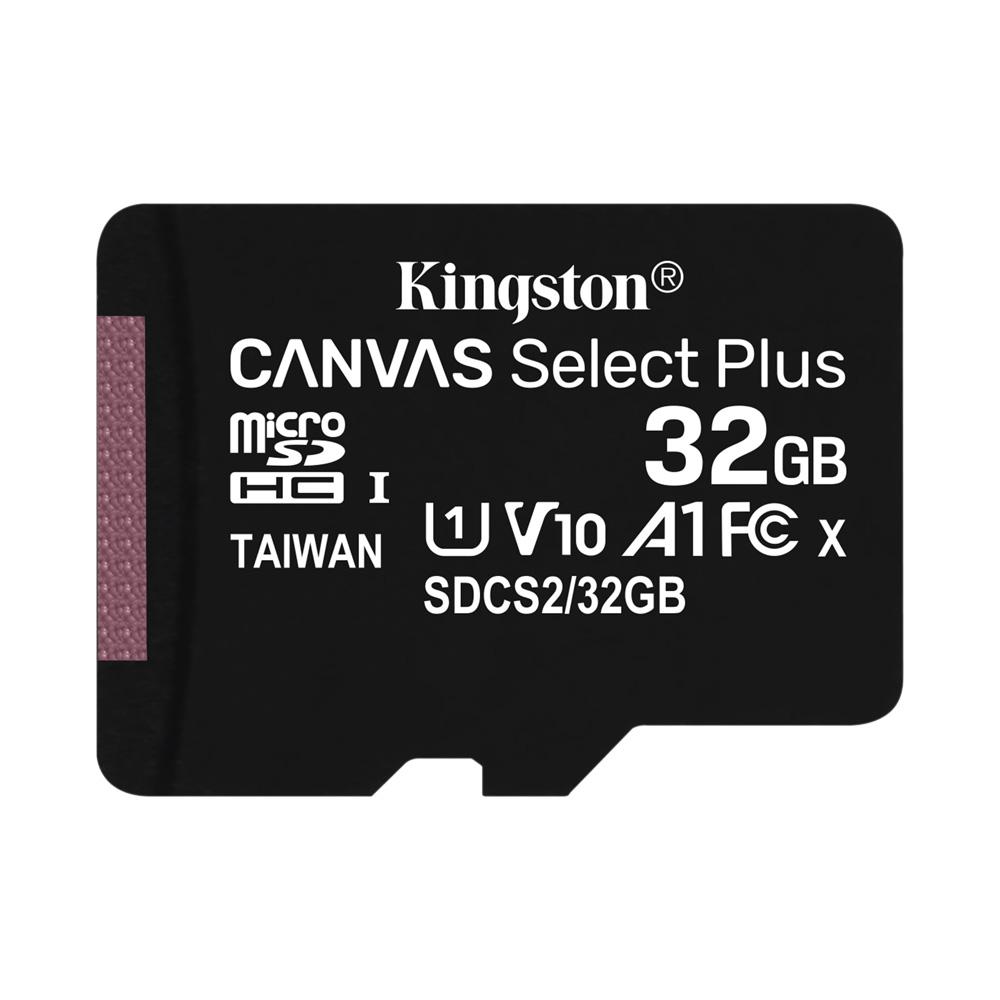 Thẻ Nhớ MicroSDHC Kingston Canvas Select Plus 32GB Class 10 U1 100MB/s SDCS2/32GBCP