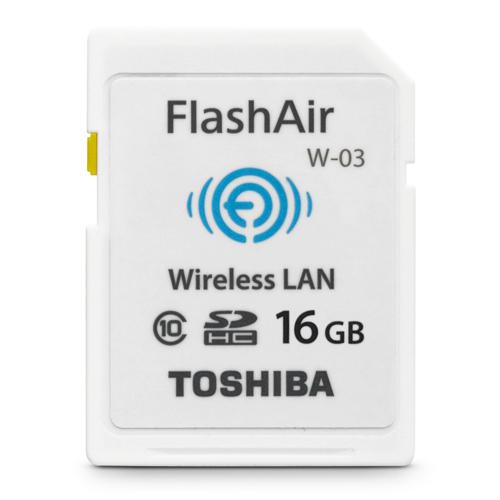 Thẻ Nhớ SDHC Toshiba Wi-Fi Flashair W-03 16GB