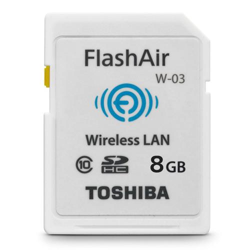 Thẻ Nhớ SDHC Toshiba Wi-Fi Flashair W-03 8GB