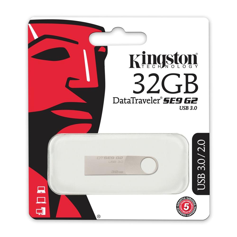 USB 3.0 Kingston DataTraveler SE9 G2 32GB DTSE9G2/32GBFR