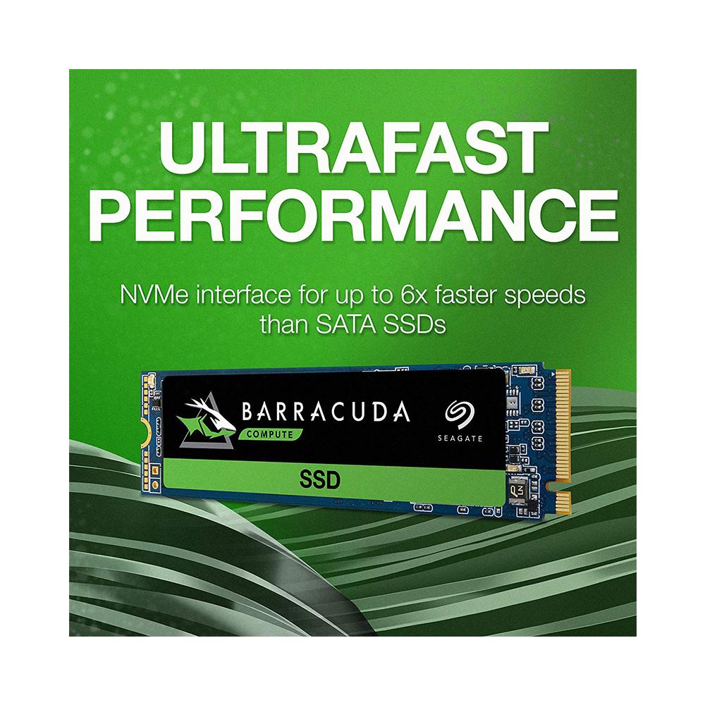 SSD Seagate Barracuda 510 M.2 PCIe Gen3 x4 NVMe 256GB ZP256CM30041