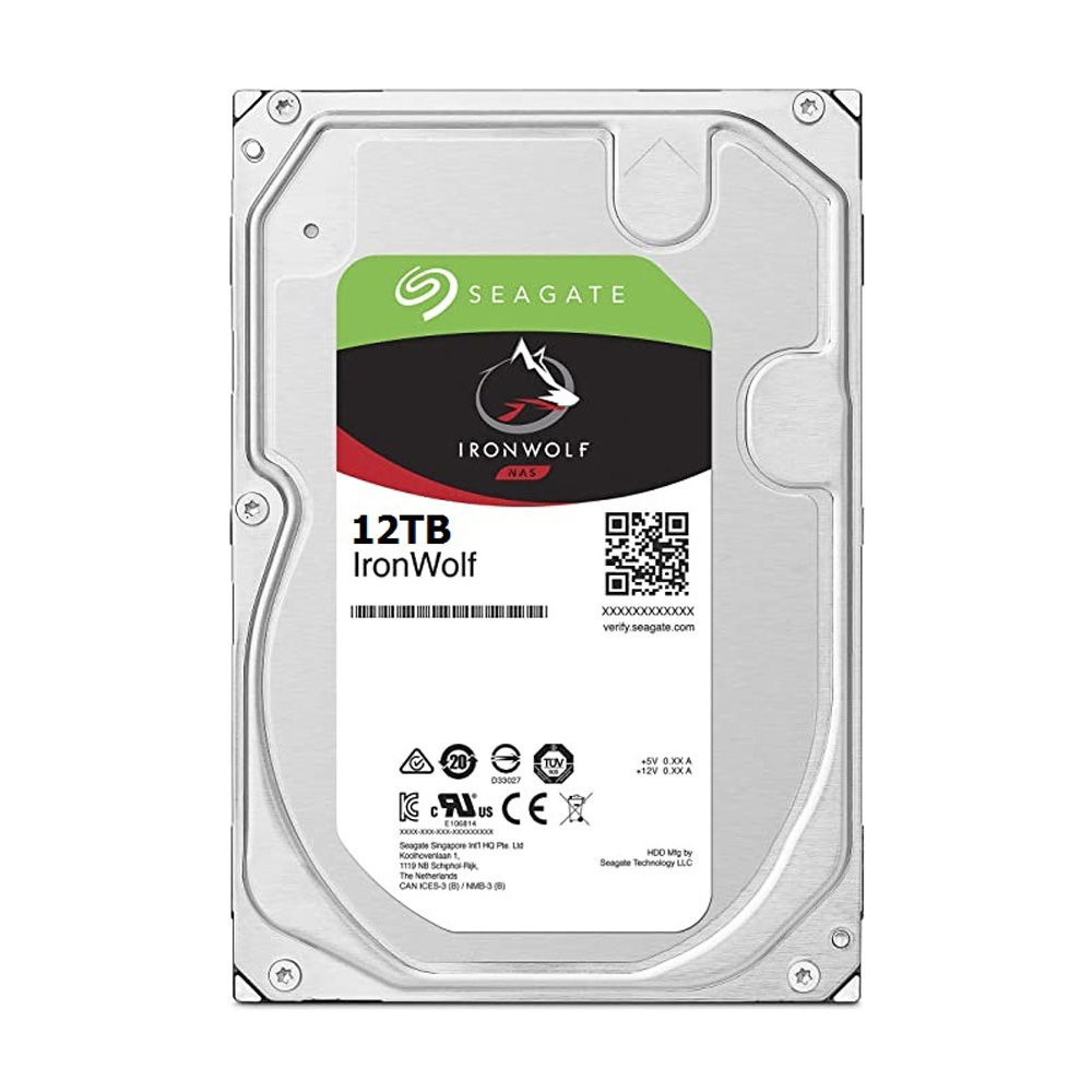 HDD Seagate IronWolf 12TB 3.5 inch SATA III 256MB Cache 7200RPM ST12000VN0008