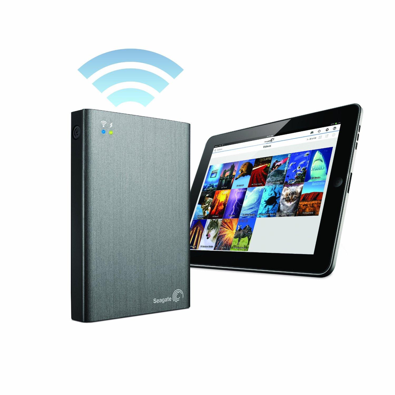 Ổ cứng di động Seagate Wireless Plus 1TB USB 3.0 (STCK1000100)