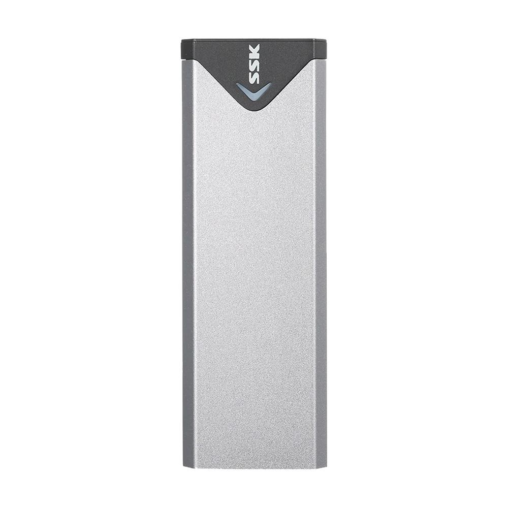 Box SSD M.2 PCIe NVMe Gen 3 x4 to USB 3.1 Gen 2 Type-C SSK SHE-C325 Aluminum