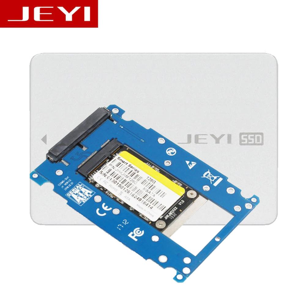 Box SSD mSATA to 2.5inch JEYI SM7 Aluminum