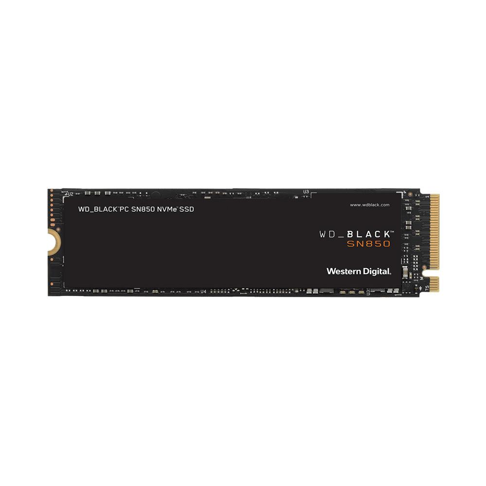 SSD WD Black SN850 PCIe Gen4 x4 NVMe M.2 500GB WDS500G1X0E