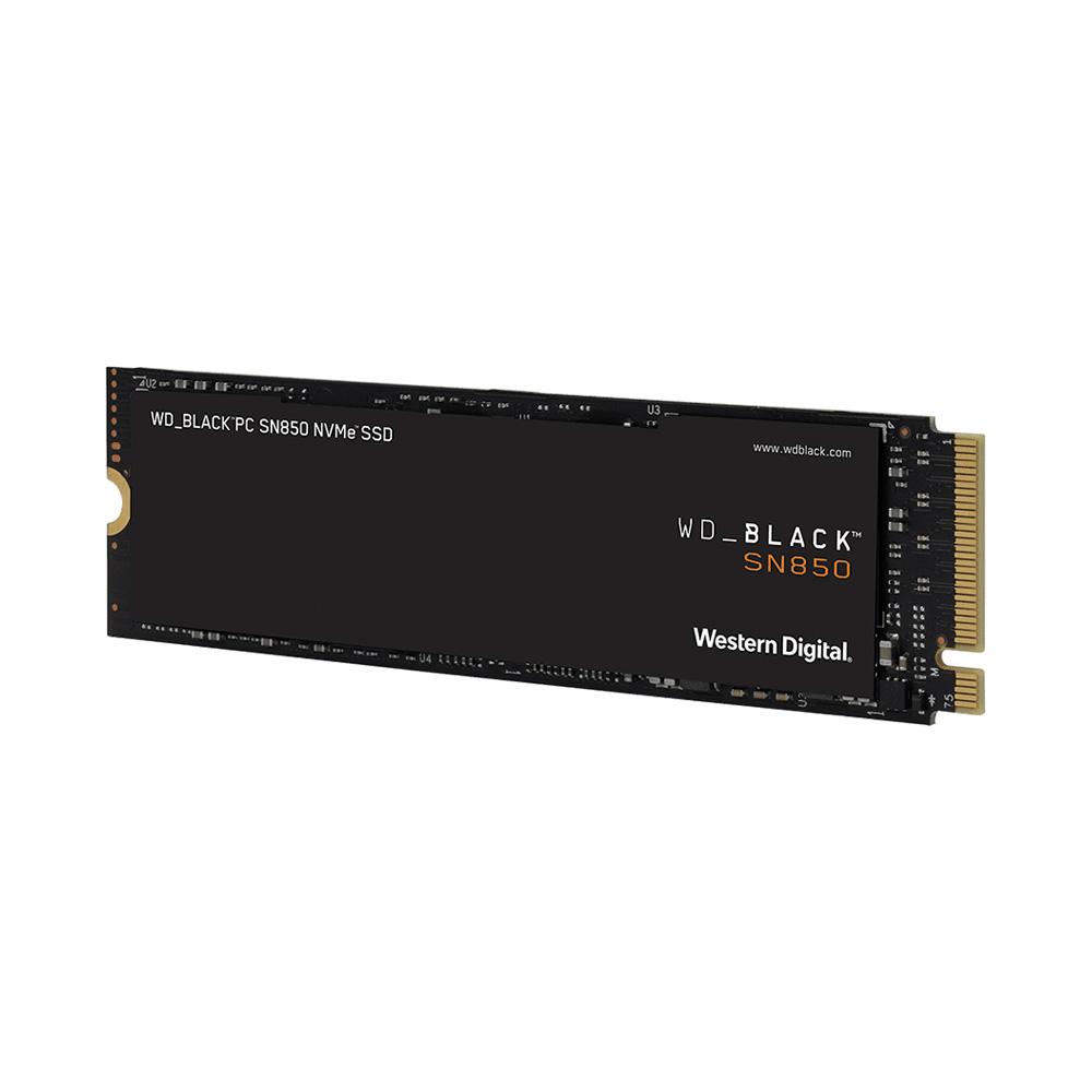 SSD WD Black SN850 PCIe Gen4 x4 NVMe M.2 1TB WDS100T1X0E