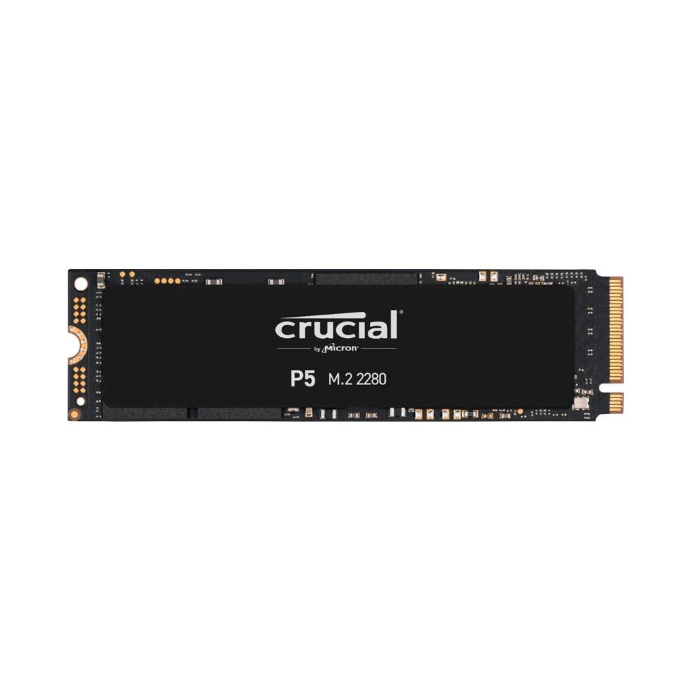 SSD Crucial P5 500GB NVMe 3D-NAND M.2 PCIe Gen3 x4 CT500P5SSD8