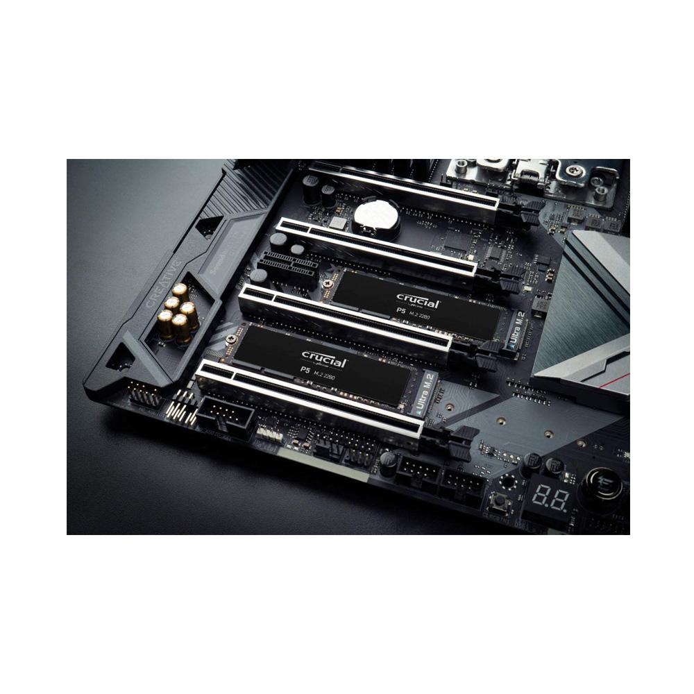 SSD Crucial P5 2TB NVMe 3D-NAND M.2 PCIe Gen3 x4 CT2000P5SSD8