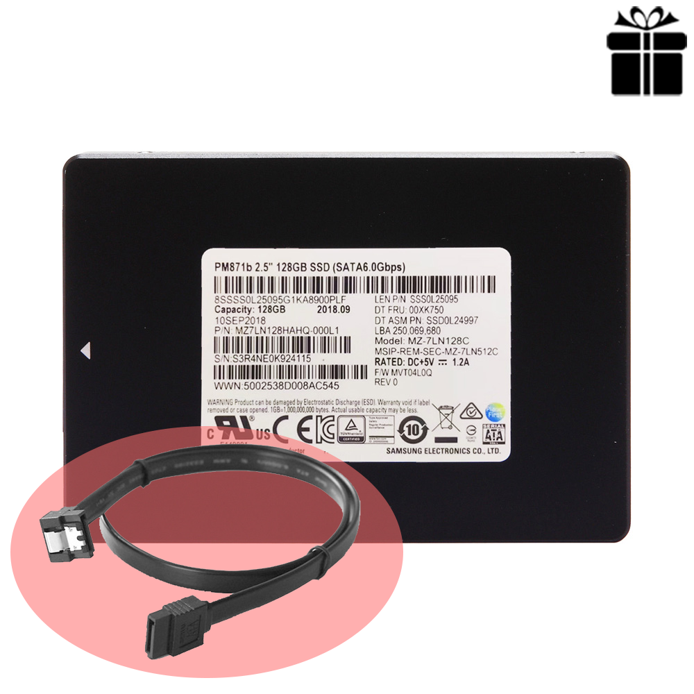 SSD Samsung PM871b 128GB 2.5-Inch SATA III MZ-7LN128C