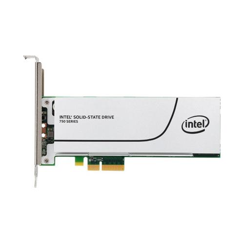 SSD Intel 750 Series HHHL (CEM2.0) PCIe NVMe 3.0 x4 MLC 400GB