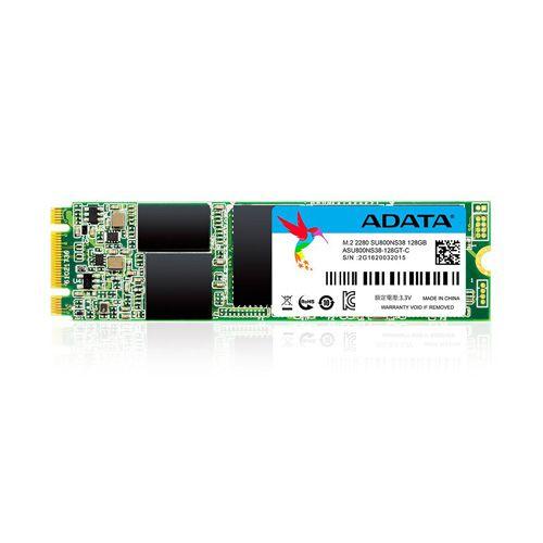 SSD ADATA Ultimate SU800 M.2 2280 Sata III 128GB 3D-NAND ASU800NS38-128GT-C