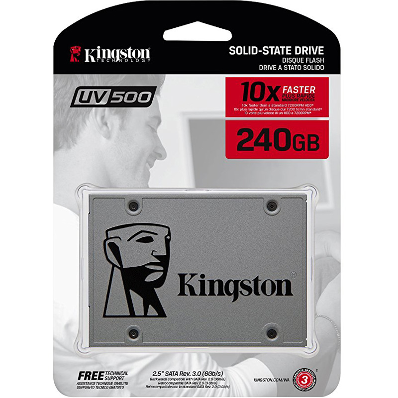 SSD Kingston UV500 3D-NAND SATA III 240GB SUV500/240G