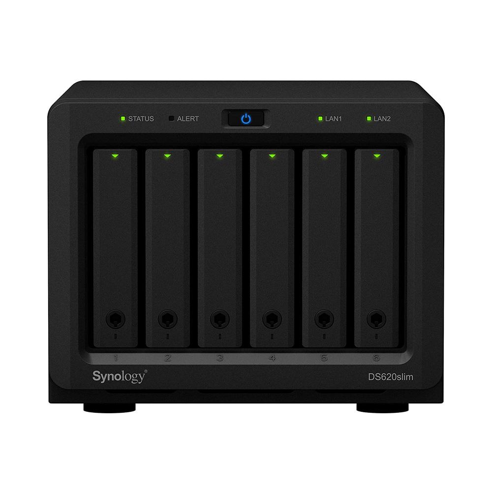 Thiết bị lưu trữ mạng NAS Synology DS620Slim