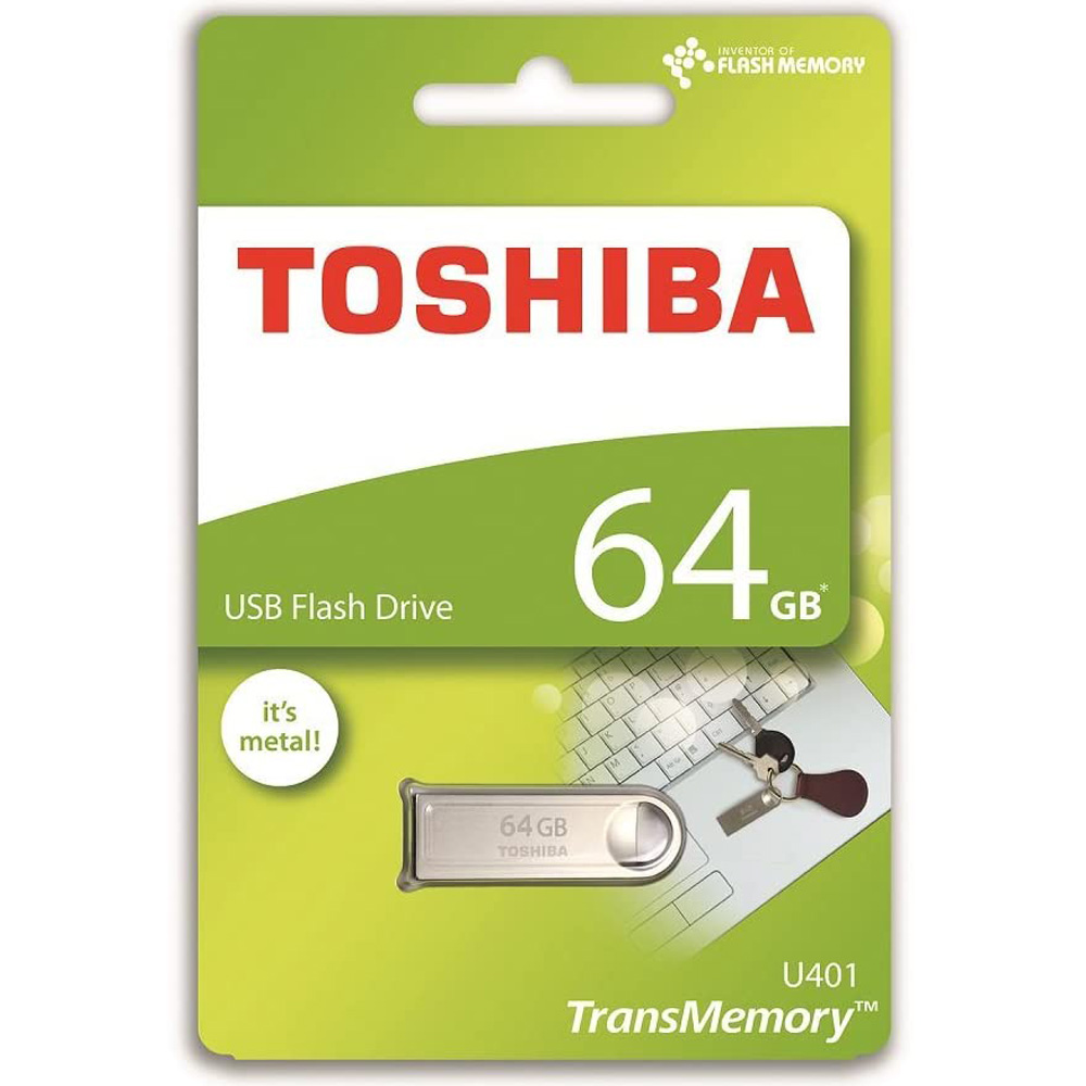 USB 2.0 Toshiba TransMemory U401 64GB Ohwari Metal THN-U401S0640A4