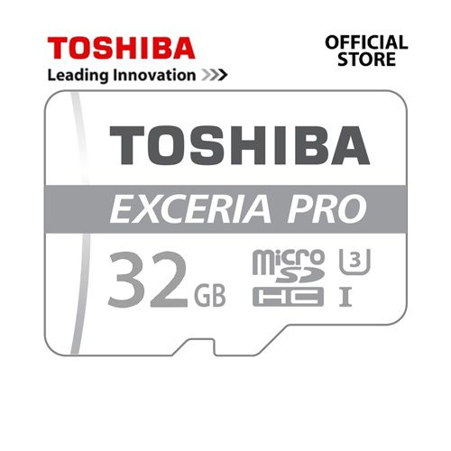 Thẻ nhớ MicroSDHC Toshiba Exceria Pro M401 UHS-I U3 95MB/s 32GB
