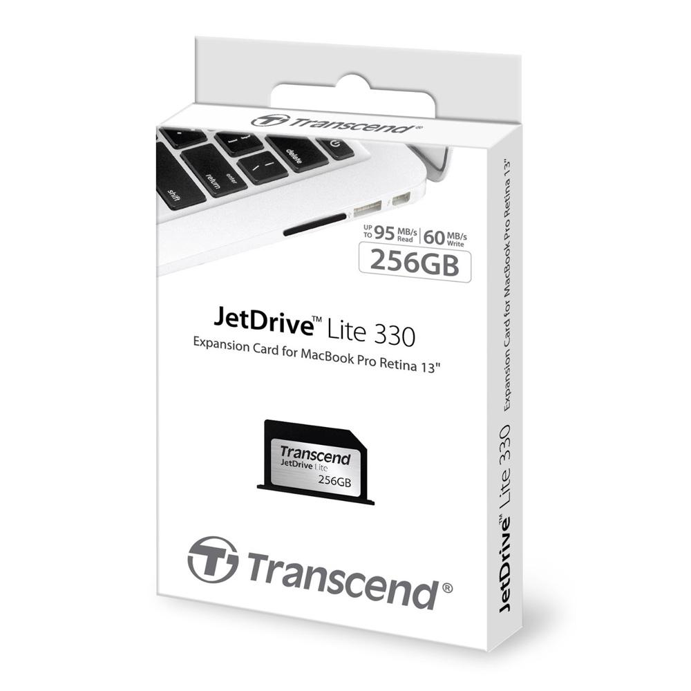Thẻ mở rộng bộ nhớ Transcend JetDrive Lite 330 256GB cho MacBook Pro Retina 13