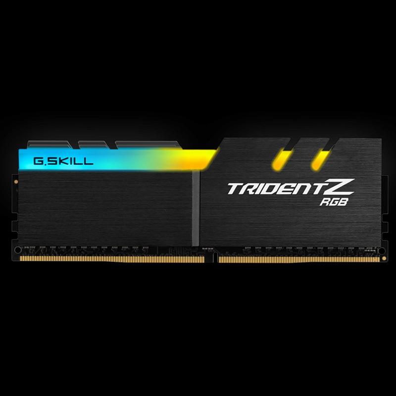Ram PC G.SKILL Trident Z RGB 32GB 3000MHz DDR4 (8GBx4) F4-3000C16Q-32GTZR